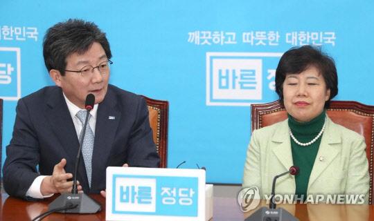 """바른미래당 """"민주당 2중대"""" 견제구에 민주평화당 `발끈`"""